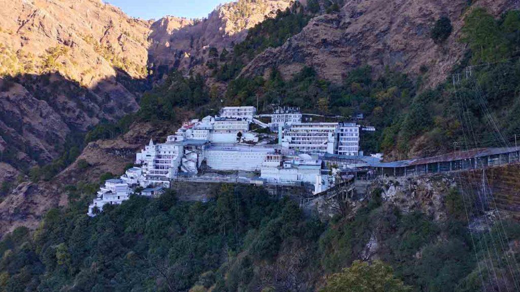 vaishno_devi_temple_ariel_view